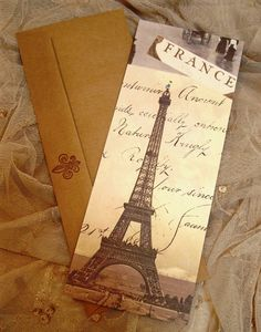 Set of 4 France/Eiffel Tower Flat by TheFrenchNestCo on Etsy, $5.00