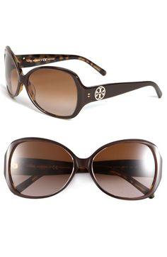 Tory Burch Oversized Square Sunglasses