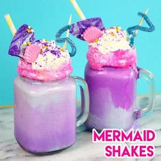 Just posted a NEW VIDEO on how to make my TOP THREE favorite Mermaid Desserts!  We've got Mermaid Freakshakes, Seashell Macarons, and Sand Dollar Snickerdoodles!  Hope you all enjoy!! Link in my profile!