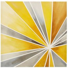 Intelligent Design Ray Of Sunshine Canvas Wall Art, Yellow ($58) ❤ liked on Polyvore featuring home, home decor, wall art, backgrounds, art, backdrops, yellow, vertical wall art, abstract home decor and yellow home accessories