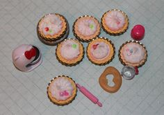 Miniature Kawaii Pie Magnets by SnootyCow on Etsy