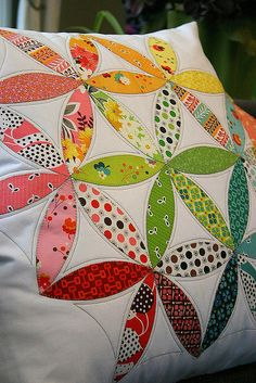 Joseph's Coat Pillow by twinfibers, via Flickr