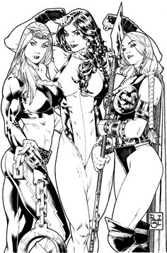 Others 3 Marvel s girls by *PauloSiqueira on deviantART
