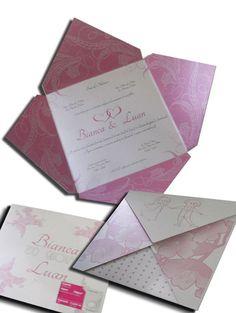 Convite de Casamento Moderno 02
