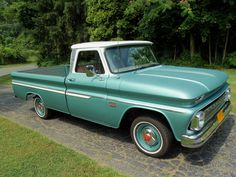 antique pickup trucks | 1966 Chevy C-10 Custom Pickup Truck in Pristine Shape | AskAutoExperts ...