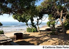 South of Santa Barbara Boosters of Carpinteria have long bragged about its calm, kid-friendly waters, and the little town's beach-adjacent campground and highly strollable Linden Avenue are additional selling points. Southern California Campgrounds, California Beach Camping, Places In California, California National Parks, California Travel, California Coast, Camping Places, Camping Spots, Go Camping