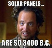 We LOVE this dude, he's so nuts!  (Giorgio A Tsoukalos, from History Channel's ridiculous show Ancient Aliens)