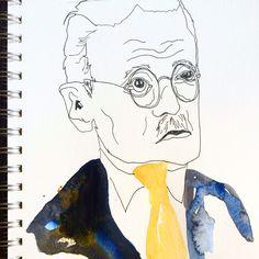James Joyce by me.