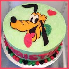 Pluto Cake  Great Decorating Tips here.