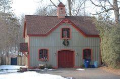 Barn home.