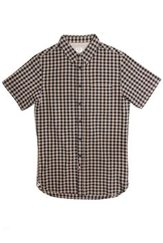 In my opinion gingham is the best and most versatile print you can have in your wardrobe. Harbor Gingham Short Sleeve by @bridgeandburn of Portland, OR. #pdx #nattyguy