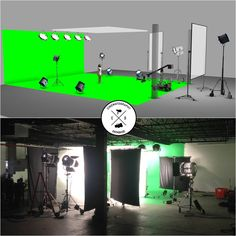 Cinematography Database- Lighting Diagram vs Set Photo from my last commercial. Easily got to 200 fps too _FB