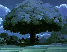 Camphor tree from My Neighbor Totoro