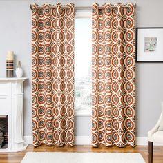 Softline Home Fashions Nolan Single Curtain Panel & Reviews | Wayfair