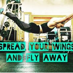 """10 Likes, 2 Comments - The Female Athlete Blog (@female__athletes) on Instagram: """"""""Spread your wings and fly away""""  #motivation #tbt #igers #picoftheday #fit #fitspo #fitness…"""""""