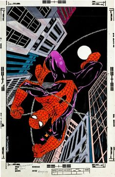 Spider-man by Marshall Rogers __ VII __