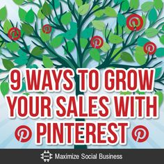 Your business should be using Pinterest to drive traffic to your website, build your email list and most importantly, grow your sales.