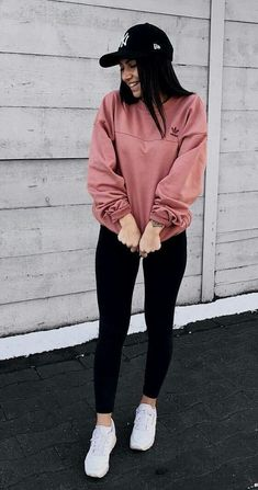 teenager outfits for school - teenager outfits ; teenager outfits for school ; teenager outfits for school cute Teenager Outfits, Teenager Mode, Cute Teen Outfits, Teen Fashion Outfits, Fashion Fashion, Fashion Ideas, Cute Outfits With Leggings, Casual Sporty Outfits, Gym Outfits