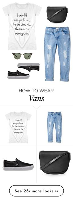 """""""The Adventure"""" by xxthepinkprint on Polyvore featuring MANGO, Vans, Topshop and Ray-Ban"""