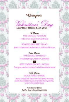valentine's day menu las vegas