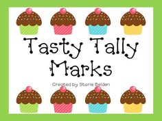 Tasty Tally Marks - A Memory Game & Worksheets Writing Numbers, Math Numbers, Math Games, Math Activities, Math Classroom, Maths, Classroom Ideas, Sixth Grade Math, Math Boards