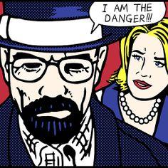 I Am the Danger Lichtenstein