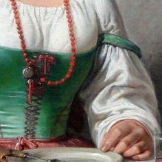 Coral Jewelry, Jewelry Accessories, Cornicello, Coral Art, Art History, Mani, Jewellery, 19th Century, Portraits