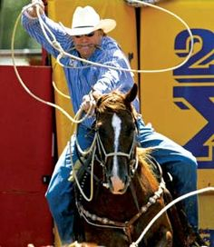 "Calgary stampede - ""steer"" wresling in a matter of seconds!!"
