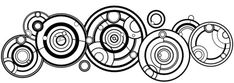 The Doctor's name in Gallifreyan. Would make a great tattoo.... I'm just…