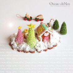Le Petit Monde d'Oiseau: Little Gingerbread Houses