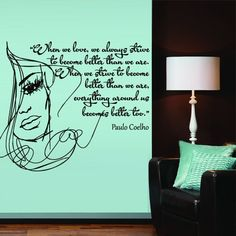 Wall Decal Vinyl Sticker Art Decor Writer Paulo Coelho Quote Phrase Word M1385. Thank you for visiting our store!!! Please read the whole description about this item and feel free to contact us with any questions! Vinyl wall decals are one of the latest trends in home decor. Vinyl wall decals give the look of a hand-painted quote, saying or image without the cost, time, and permanent paint on your wall. They are easy to apply and can be easily removed without damaging your walls. Vinyl…