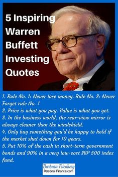 5 Inspiring Warren Buffett Investing Quotes