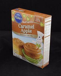 Pillsbury Caramel Apple Moist Supreme Cake Mix 15.25 oz Exp 2/2017
