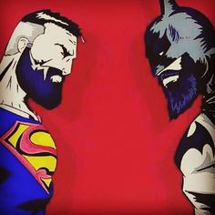 The superpowers of the beard. REGRAM @caliboyinkfreak