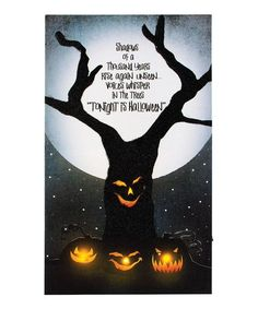 Another great find on #zulily! 'Tonight Is Halloween' Lighted Canvas #zulilyfinds