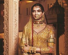 Hollywood and Bollywood actress and model Deepika Padukone from her upcoming Bollywood movie Padmavati