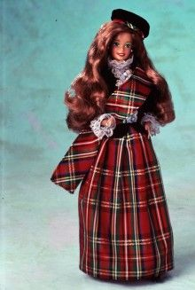 Scottish Barbie... Dolls of the World® — Europe | Barbie Collector