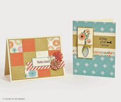 #Hopscotch #Flower #Cards #CTMH This paper pack will be retiring at the end of March 2015 (or soon is if sells out). It can be ordered on my website.