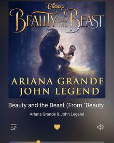 Eu tô tremendoooooo... Vazou a música oficial da Bela e Fera com Ariana Grande e John Legend 😍😍😍😍😍 #music #beautyandthebeast #beautyandthebeast2017 #film #disney #musica #filme #abelaeafera #abelaeafera2017 #arianagrande #johnlegend #pic #picoftheday #picofday