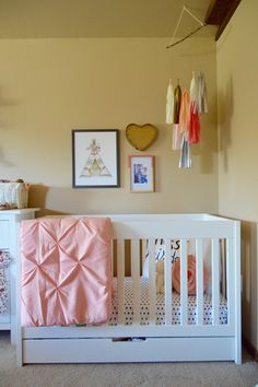 Parker's Girly Nursery Update
