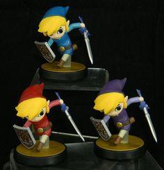 Zelda : Four Swords Toon Link Custom #Amiibo :D