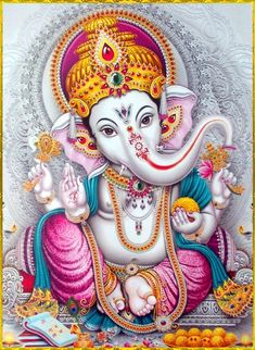 Lord Ganesha is one of the most popular Hindu deity. Here are top Lord Ganesha images, photos, HD wallpapers for your desktop and mobile devices. Arte Ganesha, Arte Shiva, Shiva Art, Hindu Art, Ganesh Images, Ganesha Pictures, Ganesha Tattoo Lotus, Lotus Tattoo, Tattoo Ink