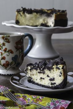 You can't go wrong with the Cheesecake Factory Oreo cheesecake. Who can turn down cheesecake with Oreo cookies