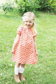 Polly Peasant Dress & Blouse PDF Pattern – Sew Much Ado