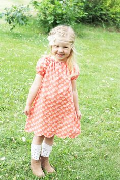 Polly Peasant Dress & Blouse PDF Pattern – Sew Much Ado