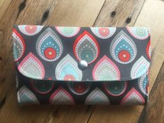 Envelope Wallet / Dave Ramsey Envelope System / Clutch by BeyondThePeachTree on Etsy