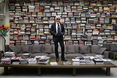 Library of Karl Lagerfeld.