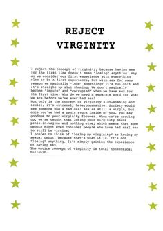 Poem about losing virginity