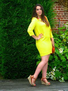YELLOW DRESS ESSENTIEL   LeopardxLipstick