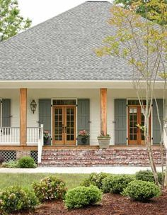 louisiana acadian houses with shutters - Google Search